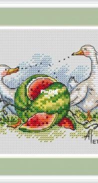 Watermelon by Anna Petunova