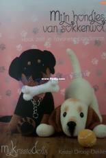 My Krissie Dolls - Kristel Droog - My Doggies Made of Sock Wool - Portuguese