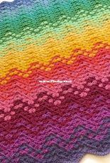 Kate Rowell - jellybean_junction - Confetti Waves Crochet Pattern
