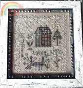 Blackbird Designs Anniversaries of the Heart Pattern 1 - Snow Garden
