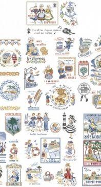 Les Brodeuses Parisiennes LBP - La Grande Histoire de La Bretagne