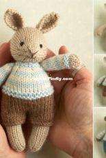 Little Cotton Rabbits-Julie Williams- Mini Bear and Bunny boys