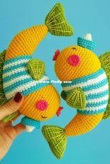 Natura crochet - Goldfish - Russian