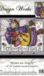 Mums are Angels by Joan Elliott from The World of Cross Stitching TWOCS 135