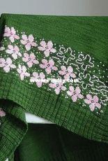 Baby Blanket Apple blossom by Pinneguri - English