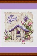 Magic Stitch - Hello Spring by Nadezhda Nagornaya / nezhenka.nadin