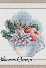 Poinsettia Cup by Svetlana Sichkar
