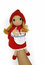Yuki Yarn Designs - Vera Kars - Little Red Riding Hood Hand Puppet