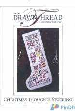 The Drawn Thread - Christmas Thoughts Stocking