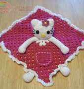 Hello Kitty Lovey Blankie