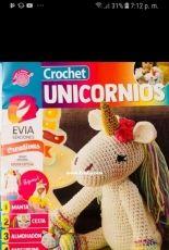 Crochet unicorns - Evia Editions - September 2018 - Spanish