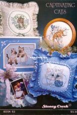 Stoney creek book 063 - Captivating Cats 3 designs in PCS