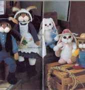 Annies attic - Lois Lee - Prairie Schooner Bunnies