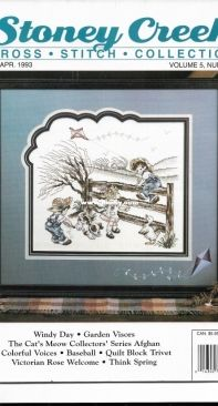 Stoney Creek Cross Stitch Collection - March / April 1993