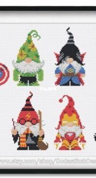 Soda SO-OP234 Super Hero Gnomes
