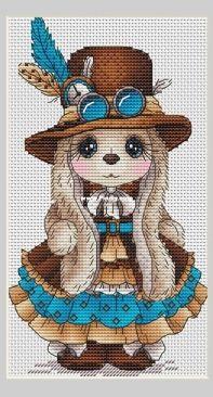 Bunny Steampunk by Svetlana Sichkar
