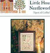 Little House Needleworks LHN PC-06 - Spot of Coffee and Spot of Tea