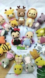 Min Handmade - Animal Crochet Doll
