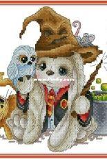 Bunny Wizard by Svetlana Sichkar XSD
