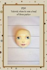 How to Sew a Head of three parts Tutorial by NilaDolss