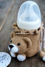 Lanik sky studio - Bear bottle cover