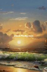 EstE 342 - Sunset over the sea XSD