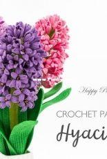 Happy Patty Crochet - Hyacinth Flower