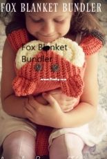 Holland Designs Crochet - Lisa van Klaveren - Fox Blanket Bundler