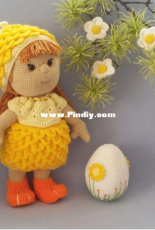 Design by Polly and Paule - S. Riedel - Kimi the Easter Chick - German