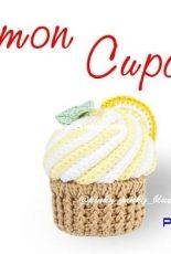 Pinkypinkyblue - Lemon Cupcake crochet pattern - English