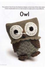 Vanessa Mooncie- Crocheted Wild Animals  Owl - Russian - Translated - Free