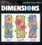 Dimensions 6918 - Live, Learn, Love