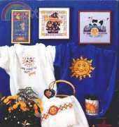 American School of Needlework ASN 3612- Sun Moon and Stars