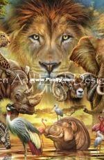 HAED  HAECRMR 20200168 African Mammals by Ciro Marchetti