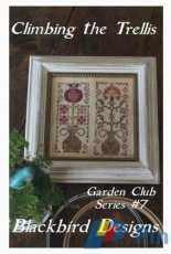 Blackbird Designs Garden Club Series #7 - Climbing The Trellis