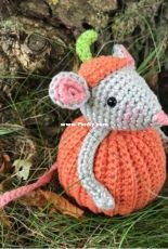Just pootling - Kate Eastwood - Pumpkin Mouse