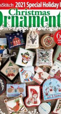 Just Cross Stitch JCS - Christmas Ornaments 2021