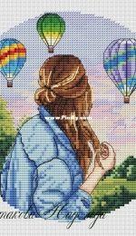 Parade of Balloons by Nadezhda Mashtakova