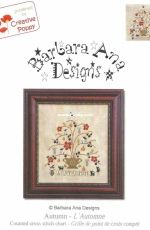 Barbara Ana Designs BAN222 - Autumn PCS + XSD