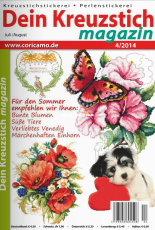 Dein Kreuzstich Magazin Issue 04 July - August 2014