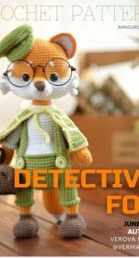 Verma Toys - Maria Verova - Detective Fox - Russian