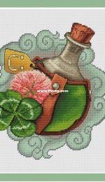 Potion of Luck by Elena Shirokova / Широкова Елена - зелье удачи