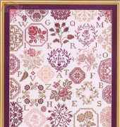 Stickideen von der Wiehenburg - Rose Quaker