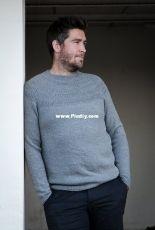 Anker's Sweater - My Boyfriend's Size by PetiteKnit - Norwegian, Danish, Swedish