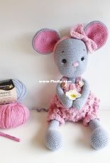 Amalou Designs - Marielle Maag - Kicky the cute mouse