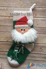 Made by Mary - Mary Smith  - Santa Claus Stocking