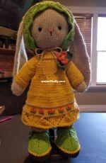 Polushka bunny autumn outfit