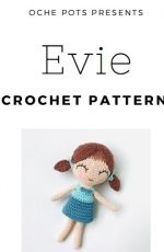 Oche Pots - Clare Cooper - Evie - Quirky Cute Doll Collection