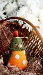 Dorogina Toys - Knitted World by Elena - Elena Dorogina - The chicken