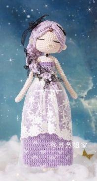 New Mommy Handmade DIY - Su Su Jie Jia - Susan's Family - SA1369 - Constellation Series - Scorpio Doll - Chinese - Free